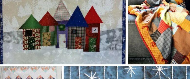 14 Cozy Winter Quilt Patterns