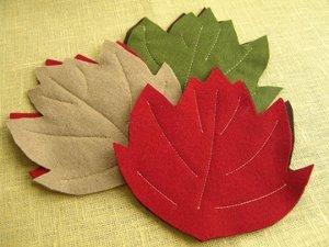Maple Leaf Coasters