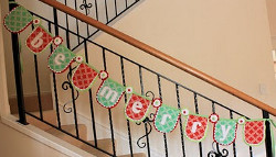 Be Merry Christmas Garland