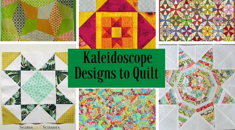 10 Kaleidoscope Designs to Quilt