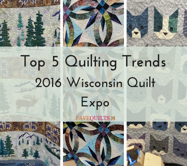 Top 5 Quilting Trends