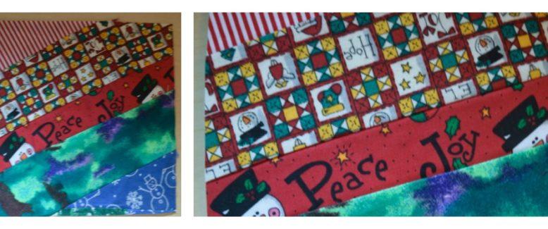 DIY Fabric Postcard Ornament