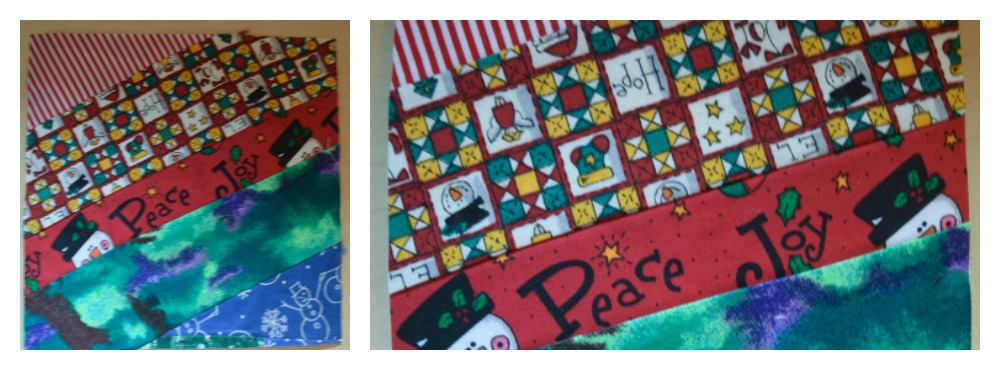 Front 3-Low-Sew Fabric Postcards Tutorial by Underground Crafter for Seams and Scissors