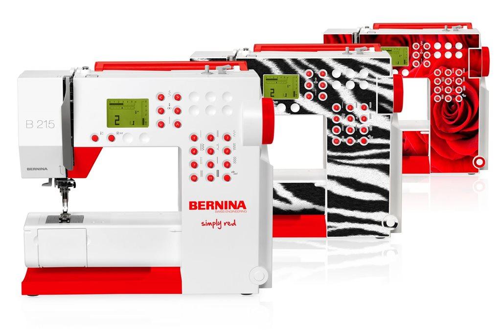 BERNINA B215 Simply Red Sewing Machine