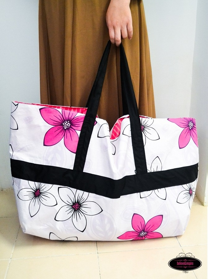 Jumbo DIY Laundry Bag Pattern