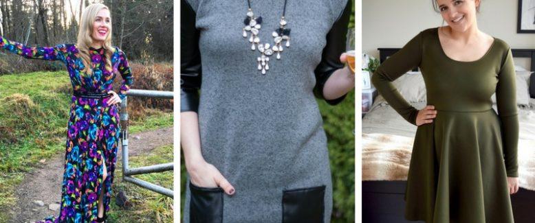 11 Long-Sleeve Dress Patterns for Winter