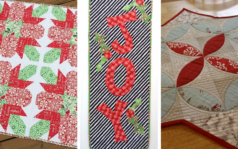 12 table runner patterns to deck out your holiday table seams and 12 table runner patterns to deck out your holiday table seams and scissors fandeluxe Image collections