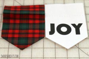 Pennant Ornament Tutorial