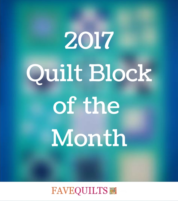 2017 Quilt Block of the Month