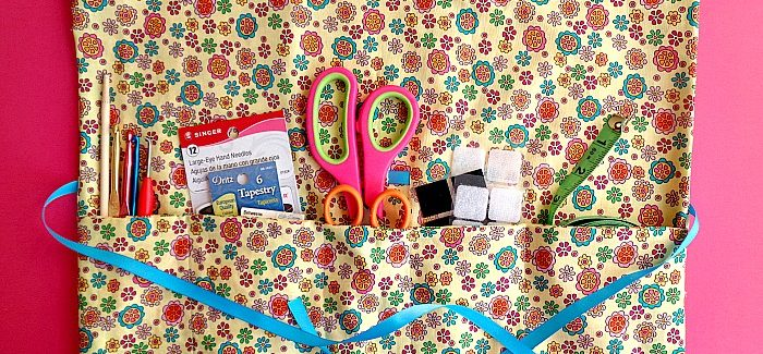 DIY: Multipurpose Travel Organizer