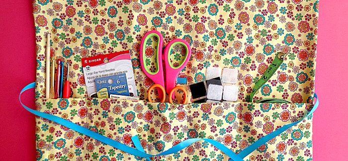 DIY: Multipurpose Travel Organizer