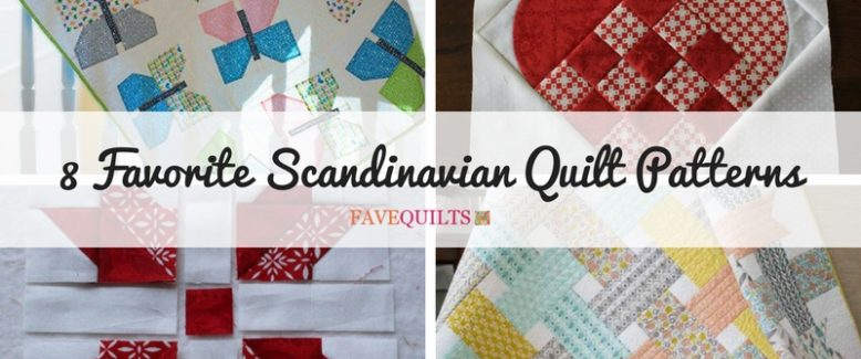 8 Favorite Scandinavian Quilt Patterns