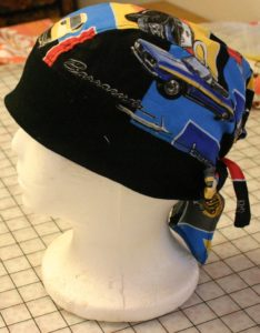 Made by me Do-rag side view