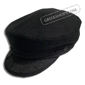 World famous Greek Fisherman's cap.