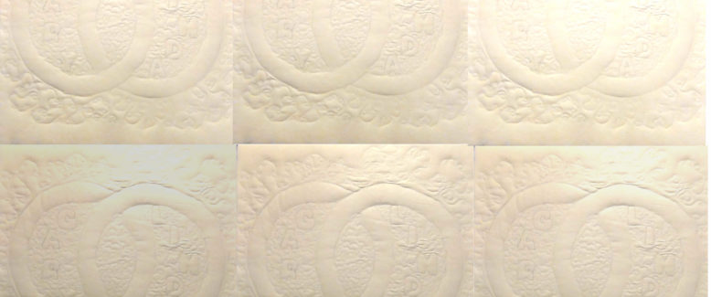 The Double Wedding Ring Quilt Block
