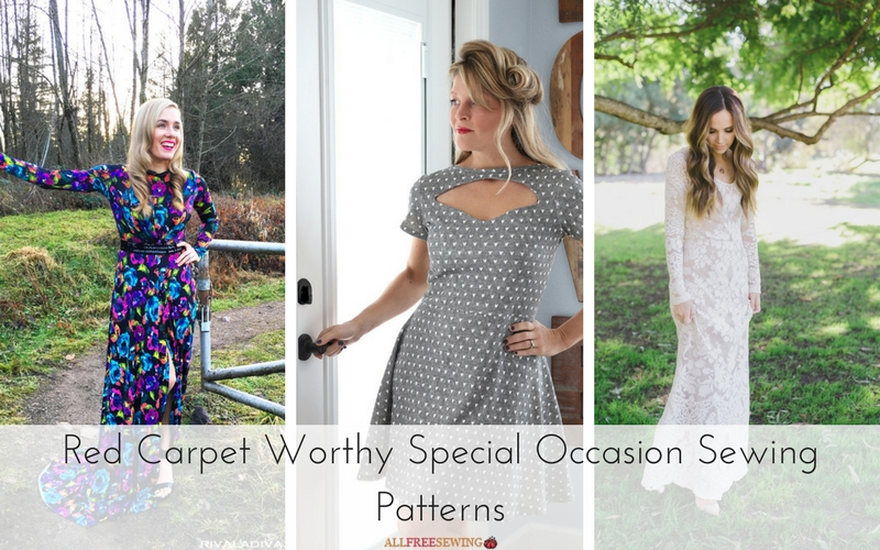 14 Red Carpet Worthy Special Occasion Sewing Patterns - Seams And ...