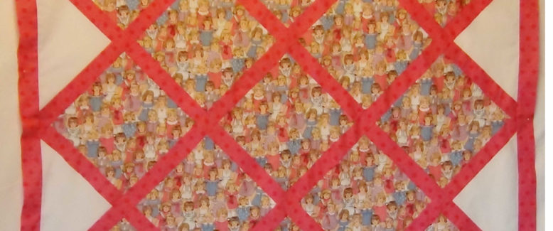 My Vintage Dolly Lattice Quilt