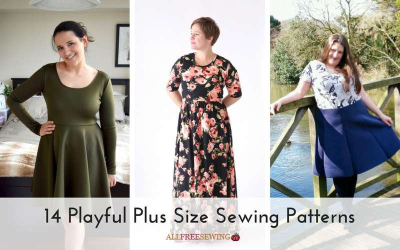 14 Playful Plus Size Sewing Patterns Seams And Scissors