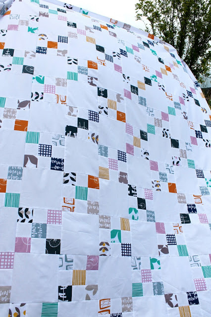 A Lotta Nines Irish Chain Quilt