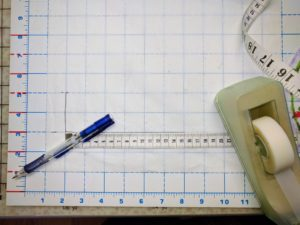 Transferring the measurements to paper 2