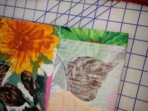 Both short edges ironed