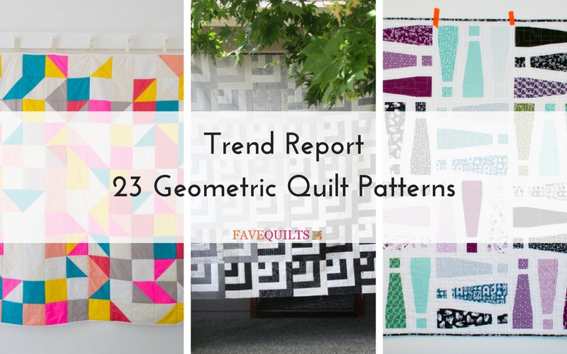 Trend Report: 23 Geometric Quilt Patterns