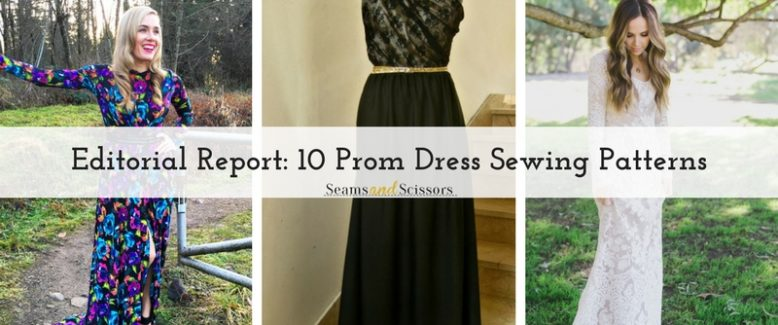 Editorial Report: 10 Prom Dress Sewing Patterns