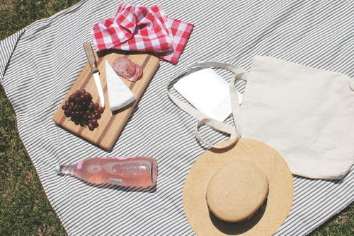 Summer Days Picnic Blanket Tutorial