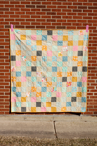 Patchwork Picnic Quilt Tutorial