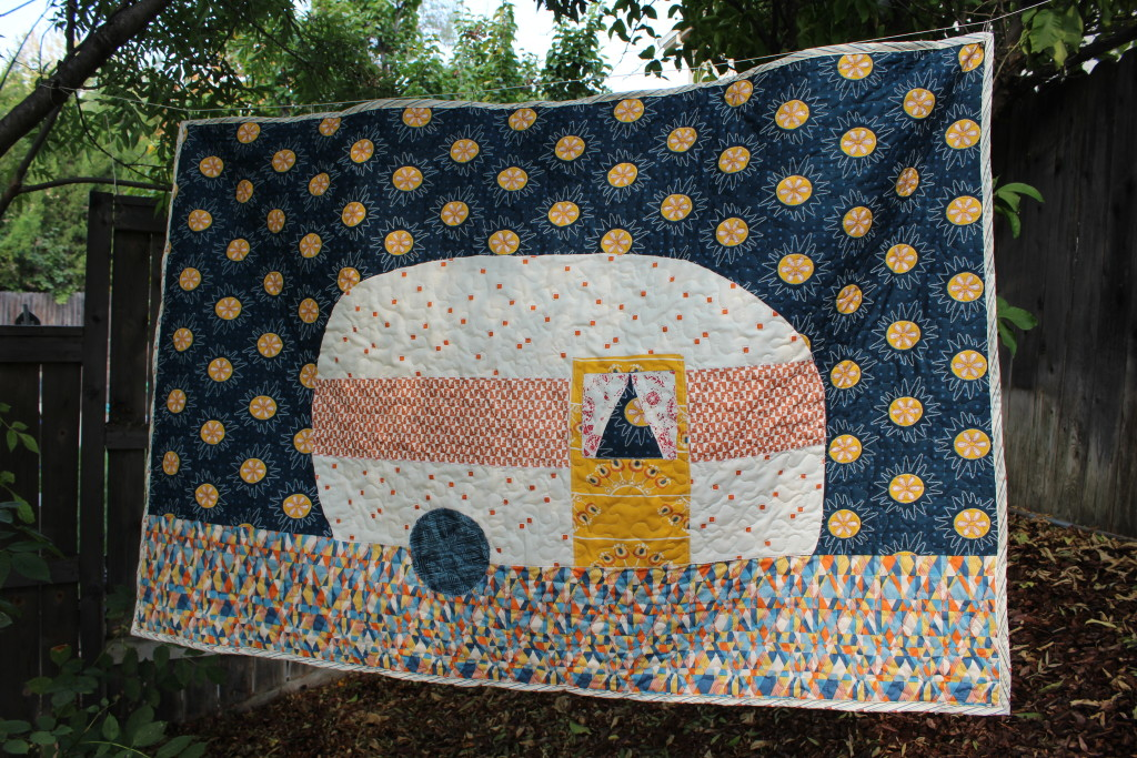 Retro Camper Quilt Tutorial