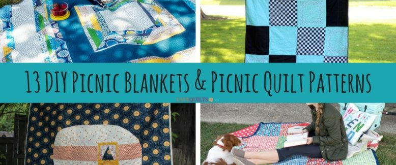 13 DIY Picnic Blankets and Picnic Quilt Patterns
