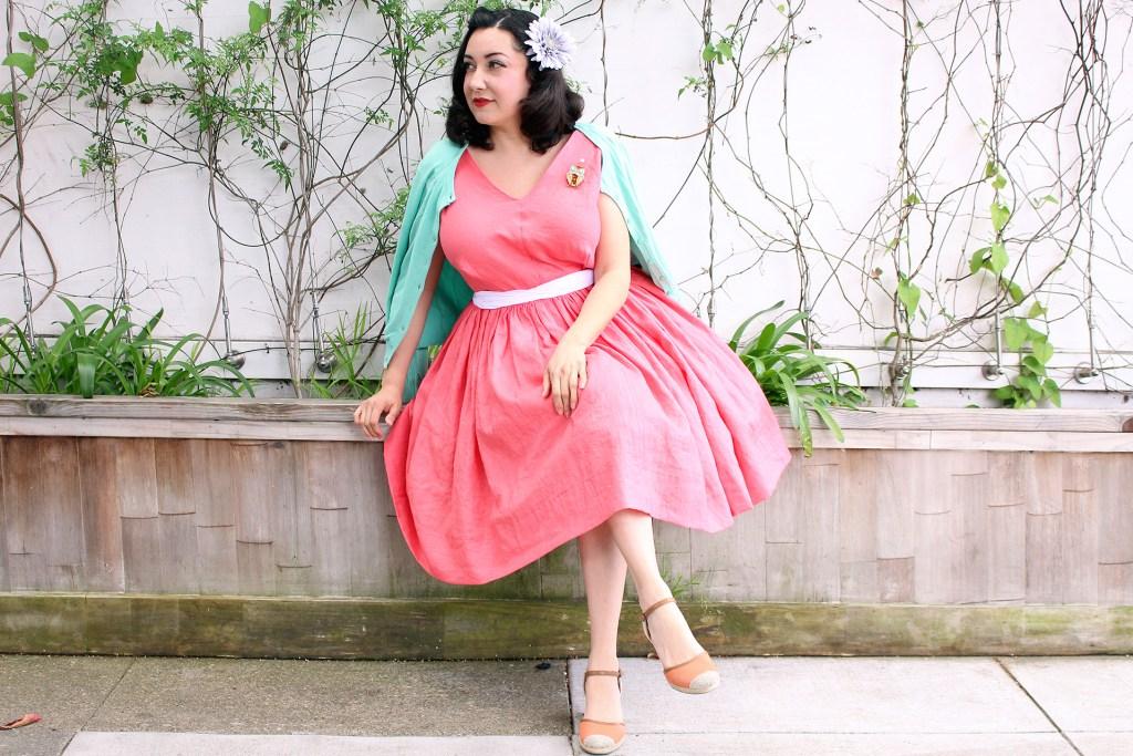 Vintage Vogue Dress