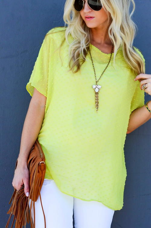 Sunbeam Oversized DIY Top