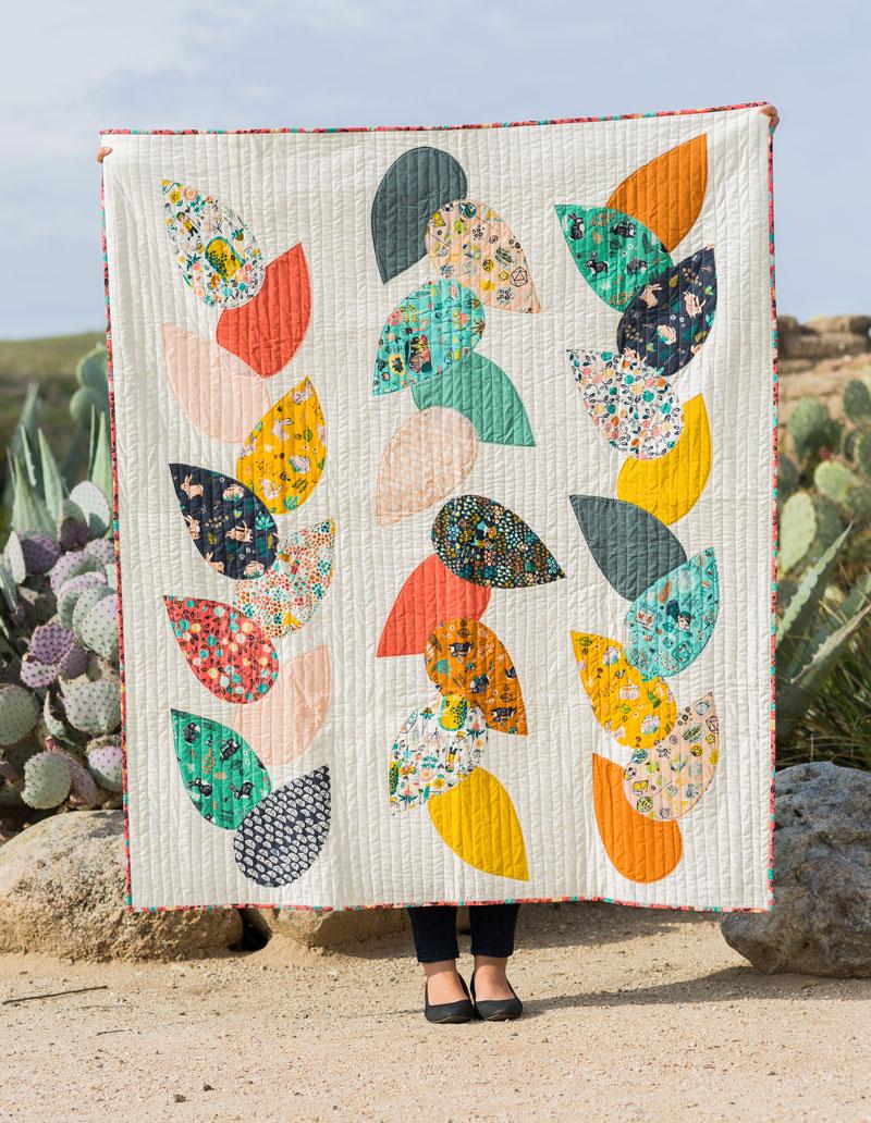 Hidden Garden Lap Quilt Pattern