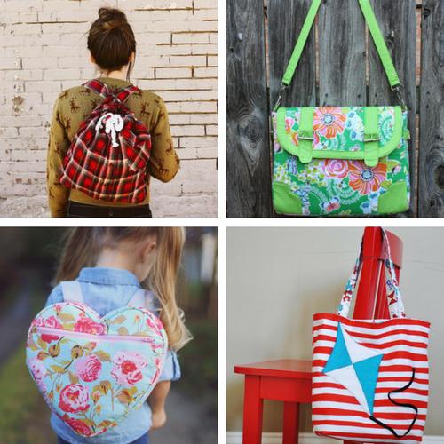 DIY School Supplies: Backpack Patterns