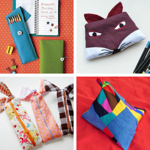 DIY School Supplies: DIY Pencil Cases