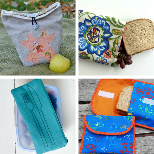 DIY School Supplies: DIY Lunch Bags