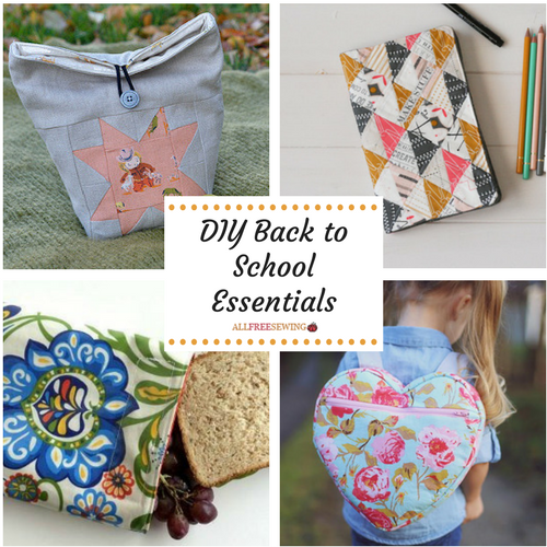 DIY School Supplies: Back to School Essentials