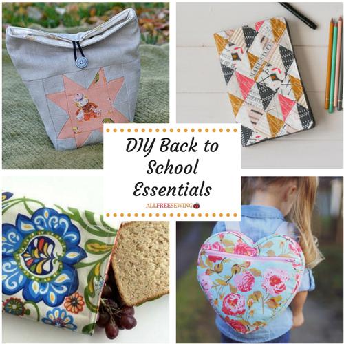 DIY School Supplies: Back to School Essentials