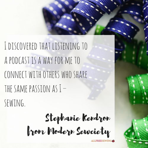 Stephanie Kendron from Modern Sewciety