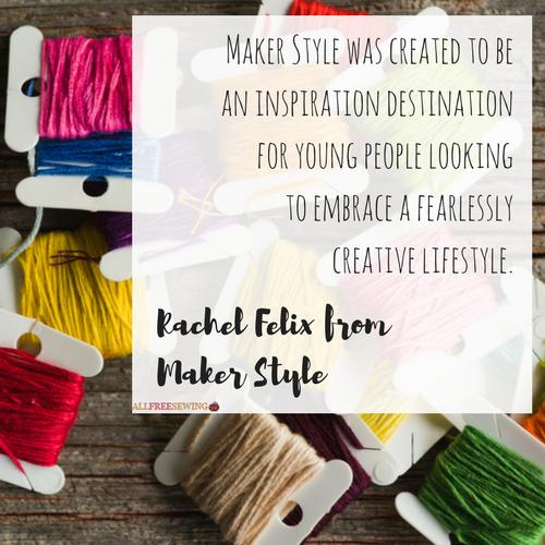 Rachel Felix from Maker Style