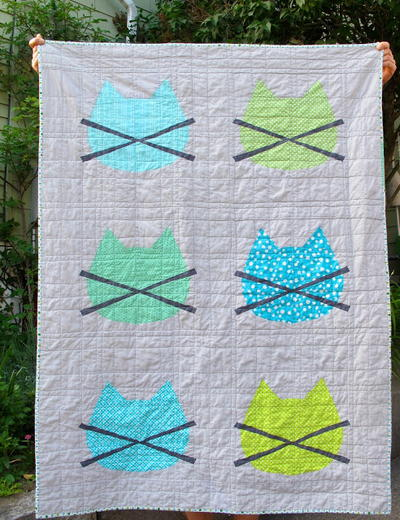 Wittle Whiskers Baby Quilt