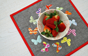 Butterfly Snack Mat