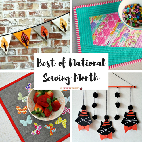 Best of National Sewing Month