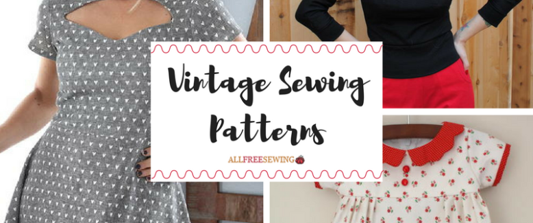 Fashion by the Decade: 53 Vintage Sewing Patterns