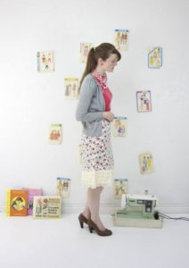 Vintage DIY Skirt