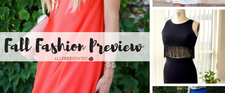 Fall Fashion Preview: 15 Fall Sewing Patterns