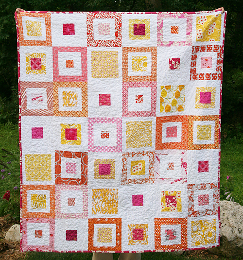 Lemon Squares Quilt Pattern