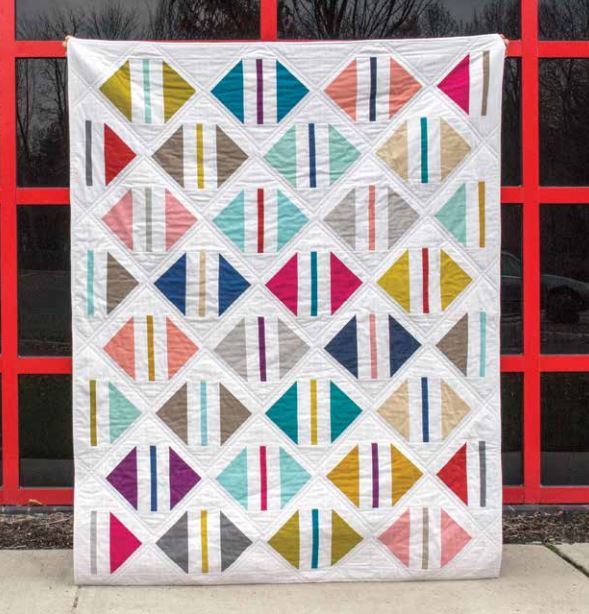 World Parcel Quilt Pattern