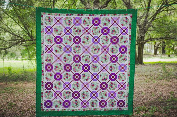Sister Rachael's Chain Linked Beauties Quilt